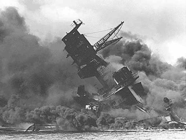 The attck on Pearl Harbor
