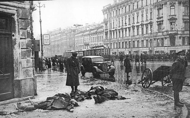 Germans abandoned Leningrad