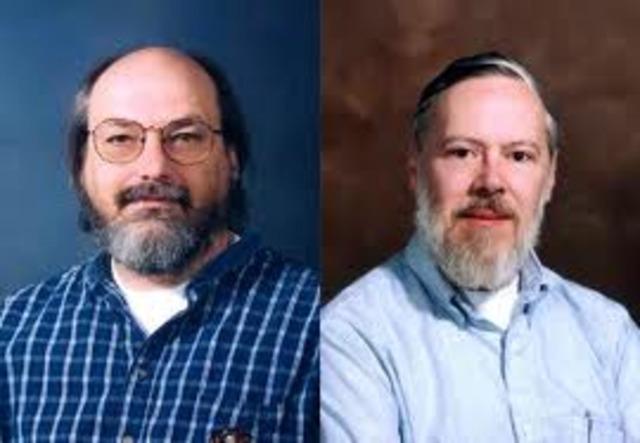 Ken Thompson, Dennis Ritchie y Douglas Mcllro