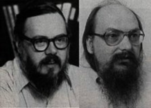 Ken Thompson y Dennis M. Ritchi