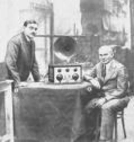 W.H Eclees y F.W Jordan