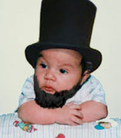 Abraham Lincoln is Born.
