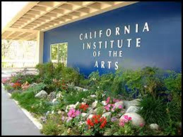 Plans for California Inistute of Arts