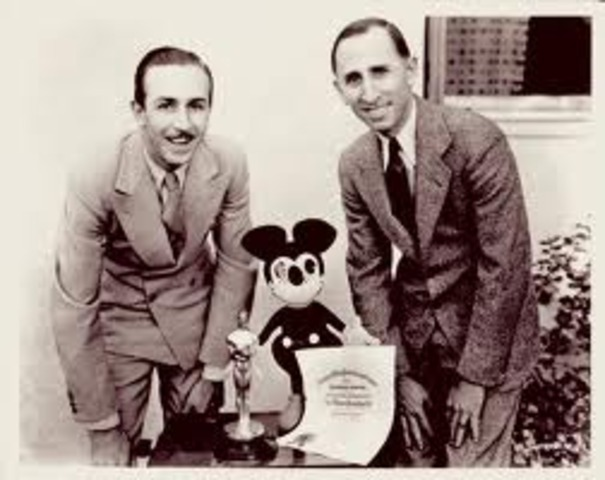 Walt's brother Roy helped  Walt to get money