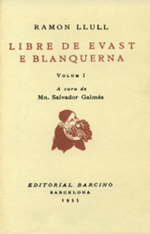 Llibre d'Evast e Aloma e de Blanquerna