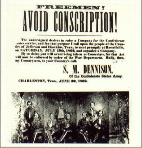 Confederate New Law