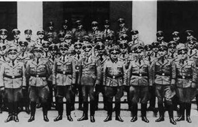 Gestapo born