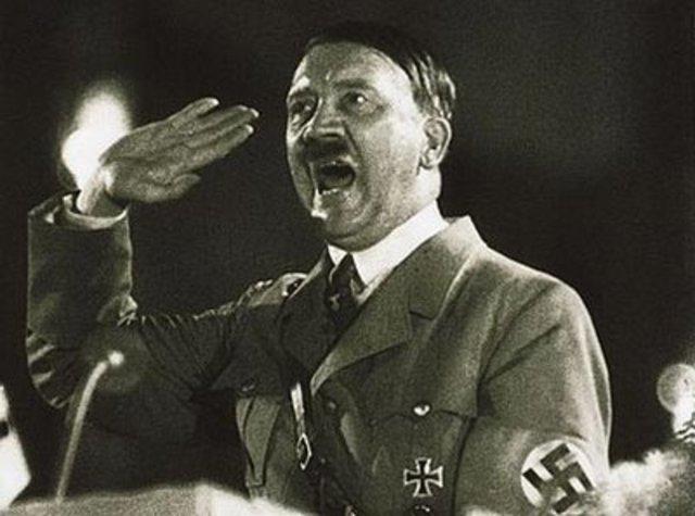 Hitler becomes their Führer.