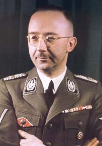 Himmler chief of the polic