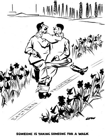 Nazis and Soviets sign Pact.