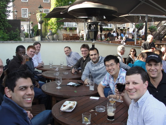 In Oxford / MSc. Course/Research