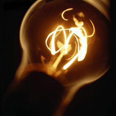 A lâmpada elétrica