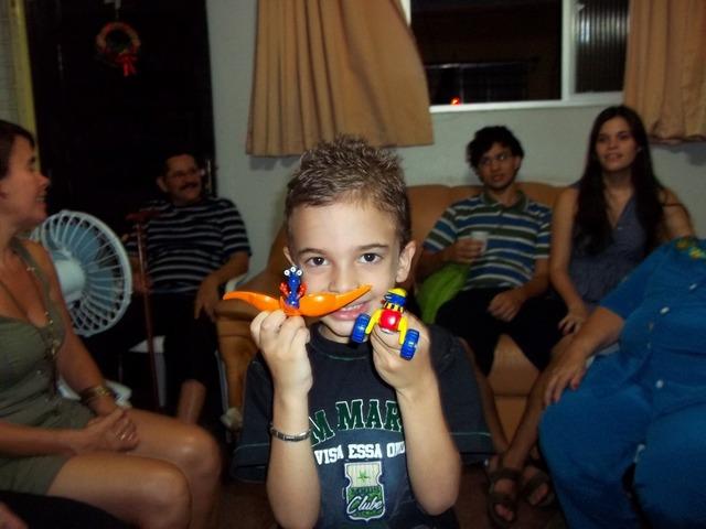 Nascía mi hermano: Guilherme