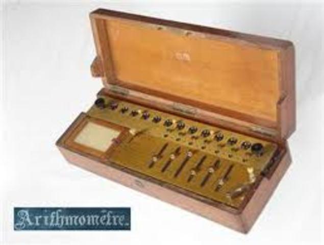 1ra. calculadora de producción masiva