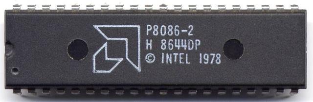 AMD 8086 microprocesador