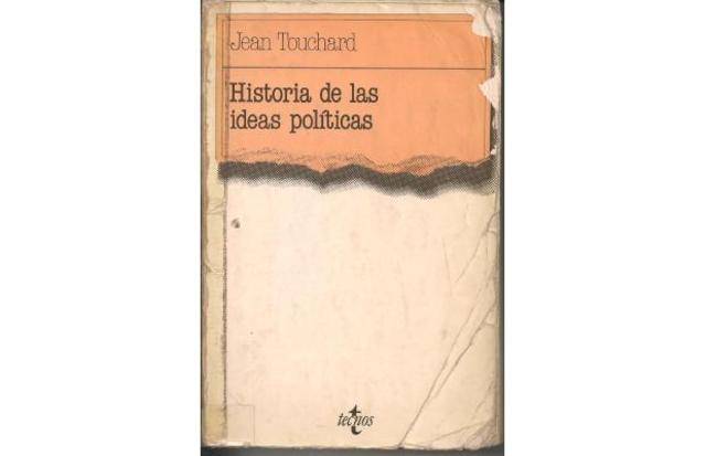 """prefacio del libro """"Historia de las ideas políticas"""""""