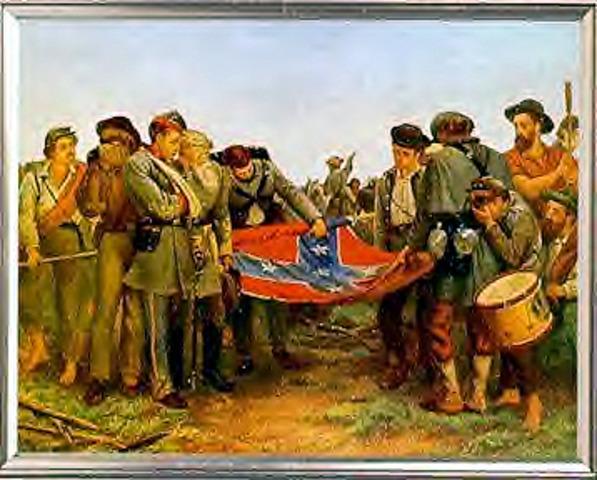 Confederate's surrender