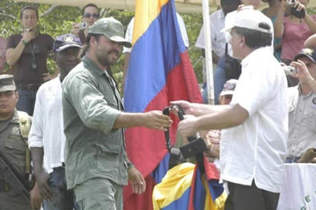 Demobilisation of Bloque Élmer Cárdenas