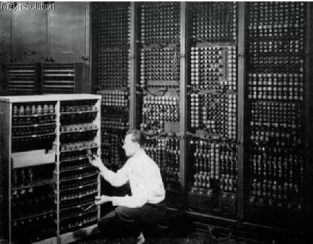 Primera computadora utilizada con niños.