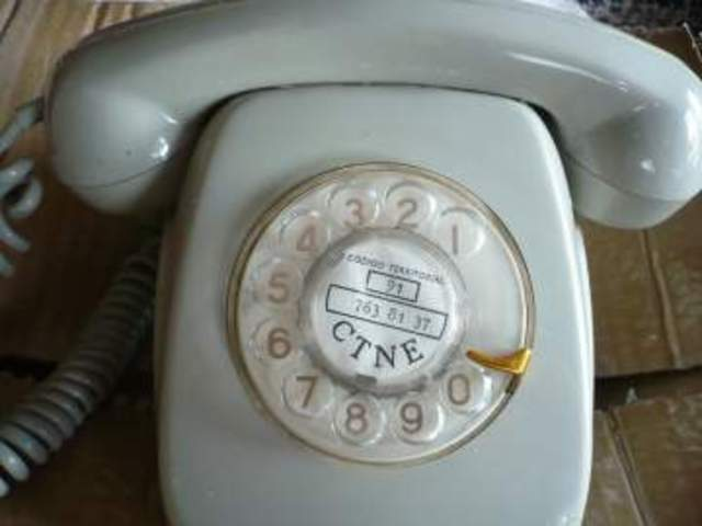Fue el primer teléfono que yo recuerdo ver cuando tenía almenos cuatro años.