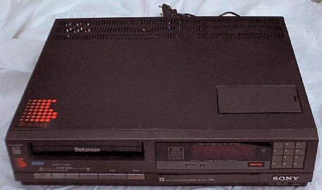 Recuerdo que mis padres tenían un video para cintas.