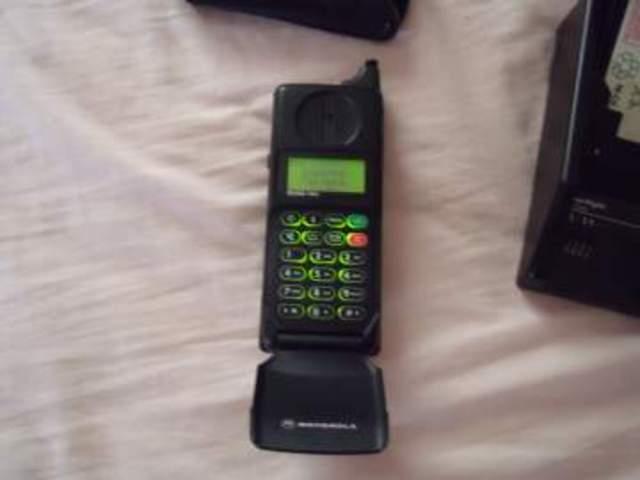 El primer móvil que tuve en mis manos.