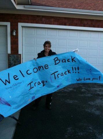 Family welcomes Track home