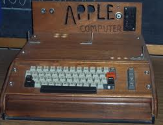 The Apple 1 was invented
