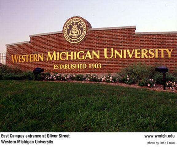 Moved to Kalamazoo, MI for college - Western Michigan University