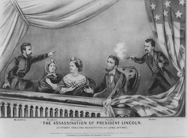 Lincoln dies