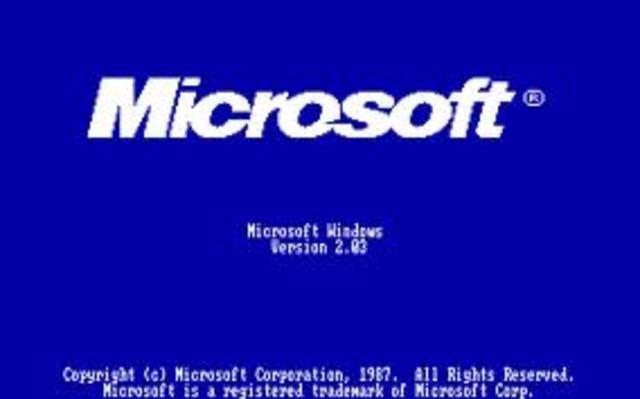 Windows 1.0 y Windows 2.0