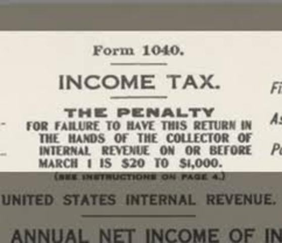 1st Federal Income tax