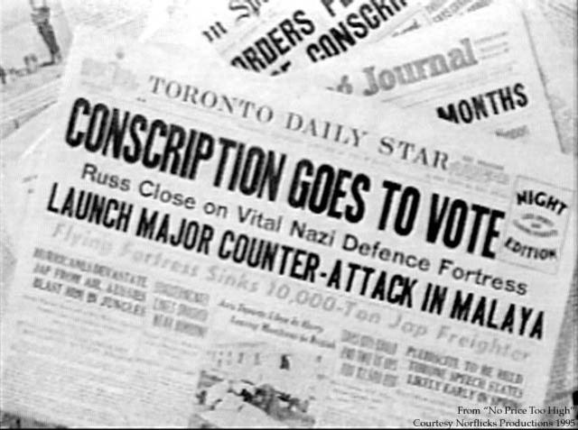 Use of Conscription