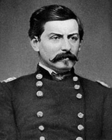 George McClellan Raises Union Army
