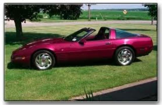 C4 1993 40th Anniversary Corvette