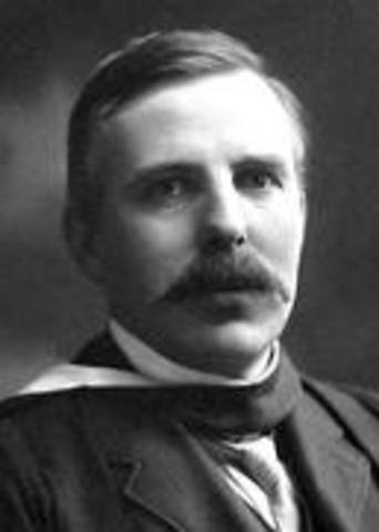 rutherford 1909