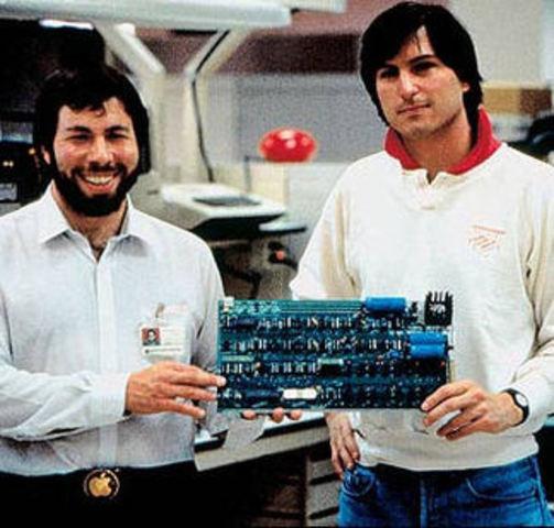 Steve Jobs y Steve Wpzniak
