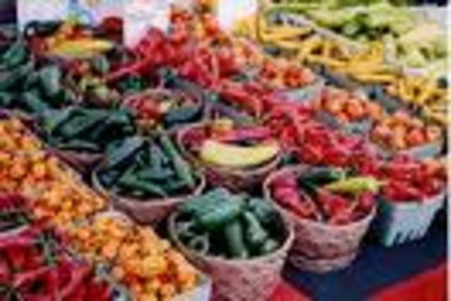54. Visit a farmers market