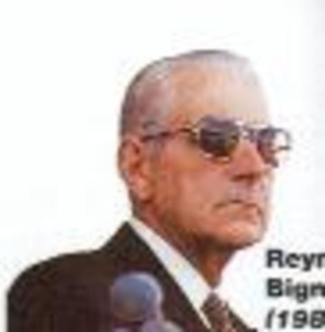 Reynaldo Bignone (fin golpe militar)