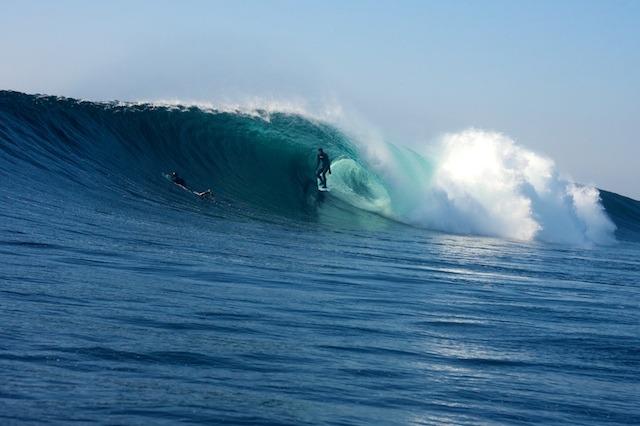Wave Doolin Pier (Irlande)