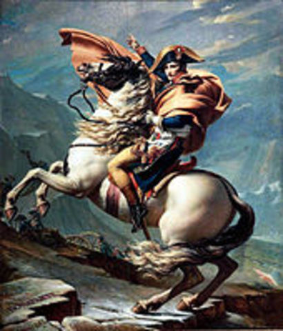Austria surrenders to Napoleon