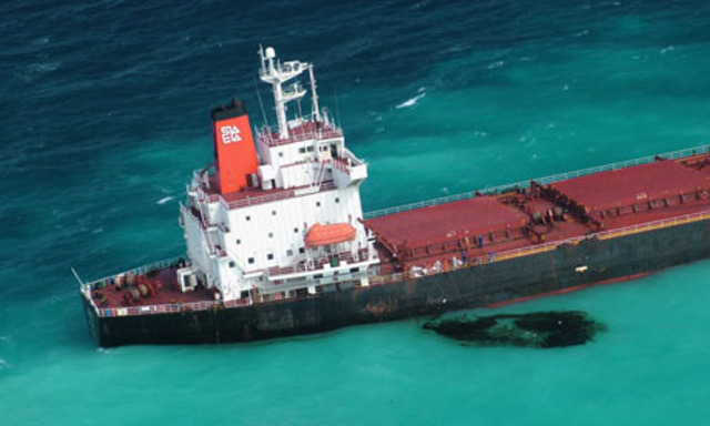 James Cook struck the Great Barrier reef