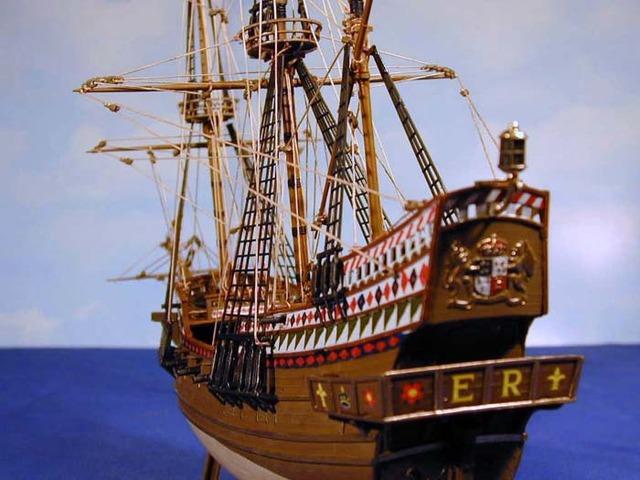 Sir Francis Drake takes off