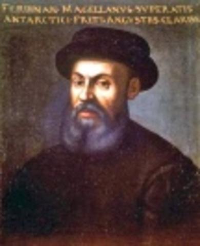 Ferdinand Magellan Reaches the Strait of Magellan