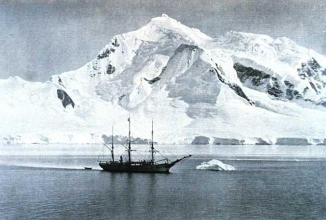 James crossed the Antarctic Circle