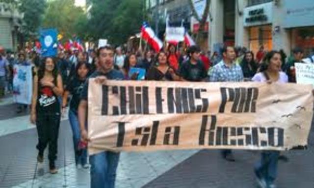 Convocan a marcha ciudadana contra mina Isla Riesco