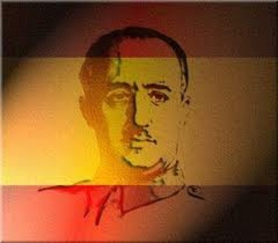 Franco declared head of Spain