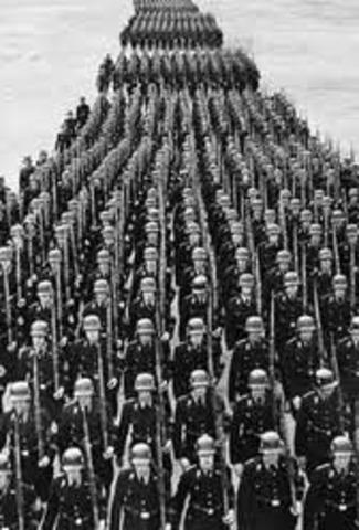 Hitler invades Czechoslovakia.