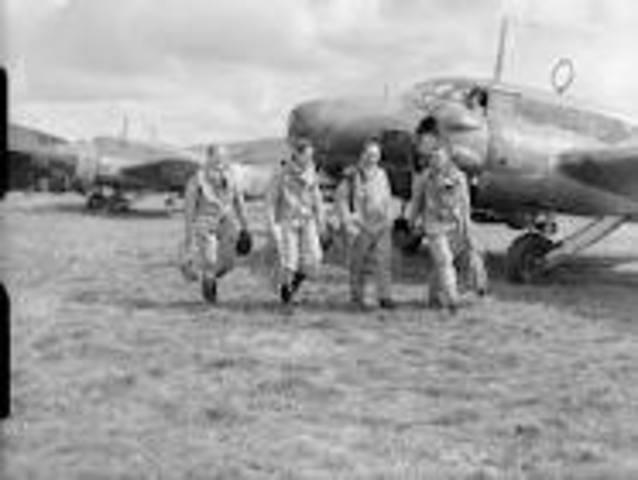 British Royal Air Force attacks Germany