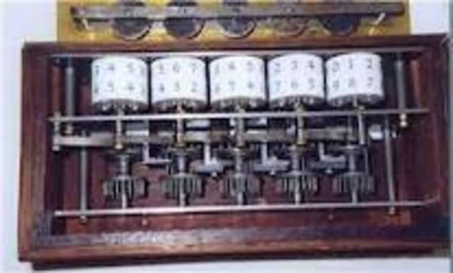 Charles Mahon - Primera máquina lógica